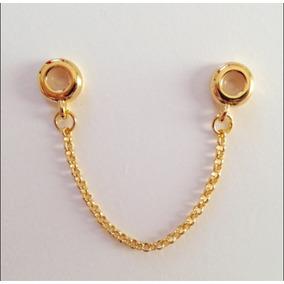 Pulseira Bracelete C  Trava De Segurança Ouro 750 Rose Leilã - Joias ... 40f43f5c64