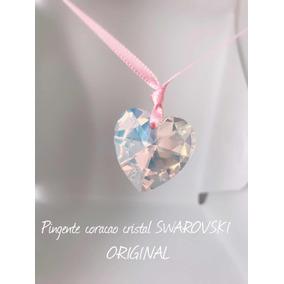 51b8a3718c6c0 Pingente Coração - Pingentes de Cristal no Mercado Livre Brasil