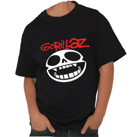 Playera Infantil Gorillaz -envío Gratis-