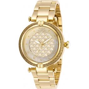 Relógio Invicta Bolt 28927 Feminino Dourado - Original