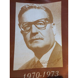 Afiche Salvador Allende 1970 1973
