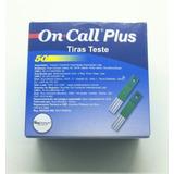 Tiras Reagentes On Call Plus Ii Com 50 Unidades