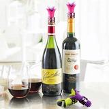 Pack Corcho Tapa Silicona Para Botella De Vino Colores 15 Ud