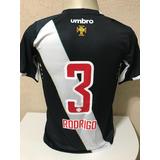 bdc7bf6827f92 Camisa Vasco Da Gama Umbro  3 Rodrigo De Jogo Tam M