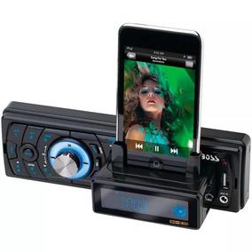 Mp3 Player Boss Com Rádio Am/fm - Dock Station Ipod Iphone