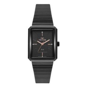 Relógio Technos Preto Quadrado Novidade 2035mrc/4p