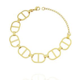 5c57d124dea Pulseira Thassia Naves Elos Cartier Semi Joia Dourado