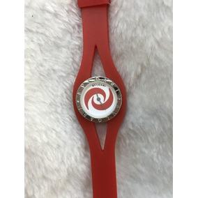 Relógio Feminino Bvlgari Vermelho (peça Um Desconto)