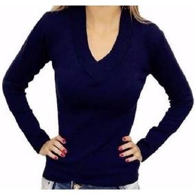 9b1cd7844e Blusa De Frio Feminina Casaco Cardigan Lã Trico Liso Ref 112