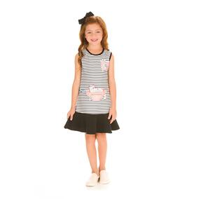 Vestido Infantil Le Petit Kukiê - Calçados beb7cec6668b