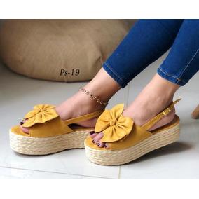 f1c51203a0b Zapatos Mujer Sandalias Con Moño - Ropa y Accesorios en Mercado ...