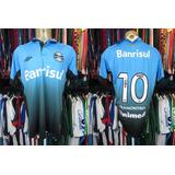 Camisa Goleiro Gremio 2015 - Camisas de Futebol no Mercado Livre Brasil 61f1bac452856