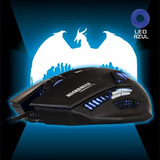 Mouse Gamer Led Micronics Therodactil Isc