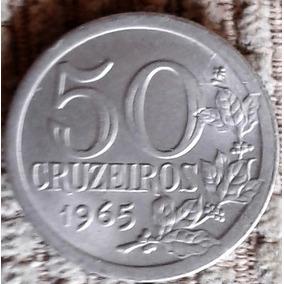 Arremate 50 Cruzeiros - 1965 3g Fc - 3 1 Cabelo Na Orla