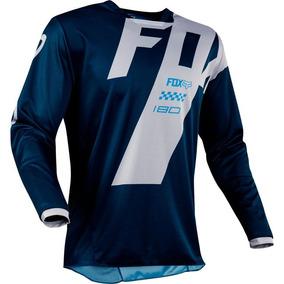 Kit Causa Camisa Fox Motocross Trilha - Roupa para Motociclista no ... ea1f950f8b5