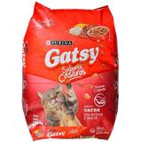 Gatarina Gatsy Sabor A Carne Saco 17kg