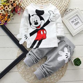 Ropa De Mickey Mouse Para Bebe - Ropa para Bebés en Mercado Libre México 8a09fd284dd