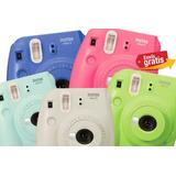 Camara Fujifilm Instanx Mini 9 Imprime Fotos Varios Colores!