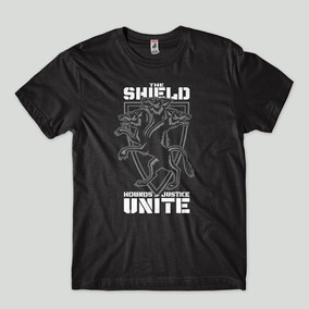 8ff322025 Camisa The Shield Houds Of Justice Raw Masculina