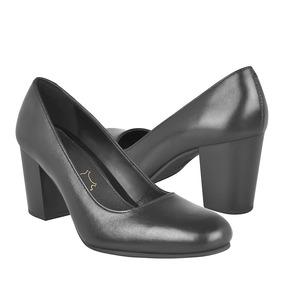 Zapatillas De Vestir Para Dama Flexi 37901 Piel Negro