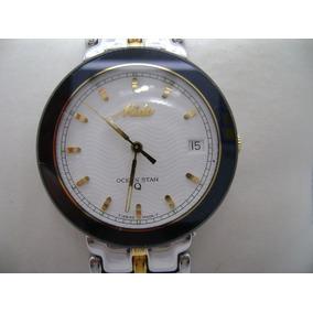 61d87e7a19c7 Reloj Mido Ocean Star Extraplano De Cuarzo Vintage
