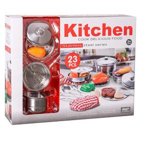 Set Instrumentos De Cocina De Acero Inoxidable 23 Piezas Ck