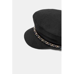 Boina Gorra Gorro Visera Zara Unisex Herringbone Gatsby. 6. 115 vendidos -  Capital Federal · Boina Zara Negra Con Cadenas 83d1ecf309ae
