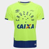 Camisa Do Goleiro Do Cruzeiro Verde - Futebol no Mercado Livre Brasil c4ae8ef80dfdd