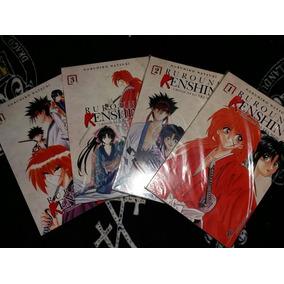 Mangá: Rurouni Kenshin - Nobuhiro Watsuki - Volumes 1 Ao 4
