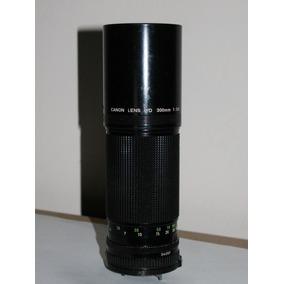Lente Canon Fd 300mm F/5.6 Japan