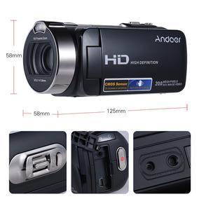 Câmera Filmadora Foto Vídeo Full Hd Digital Portáti Tela Lcd