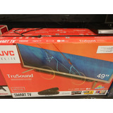 Pantalla Jvc Barra Audio Smart Tv 49 Pulgadas