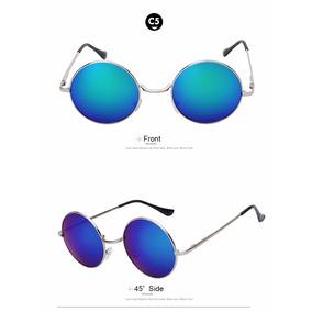 Óculos De Sol Redondo Tradicional Estilo John Lennon   Ozzy. 8 cores db43d3ed66