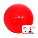 Bola Suiça Para Pilates 45cm Vermelha Liveup