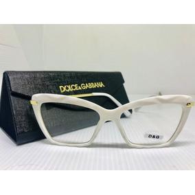32dba8662 Oculos De Grau Rosto Redondo Feminino Dolce Gabbana - Óculos no ...