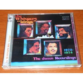 Cd - The Whispers - Bingo - The Janus - 02 Cds