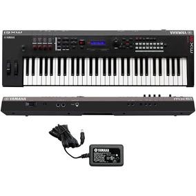 Teclado Sintetizador Yamaha Mx61 Profissional + Fonte