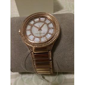 8f51bfb22e567 Relógio Michael Kors Mk 3142 Ladies Rose Gold Quadrado - Joias e ...