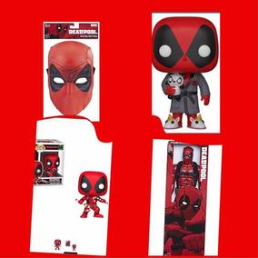 Figura Muñeco Máscara De Deapool Original Hasbro