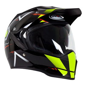 279fbdc7130e0 Casco Doble Proposito Con Lentes Suomy Mx Tourer Road Amaril