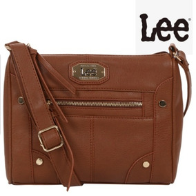 Bolsa Lee Original 100% Y Asa Ajustable Crossbody Tono Miel