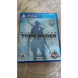 Rise Of The Tomb Raider - Ps4 - S/. 75