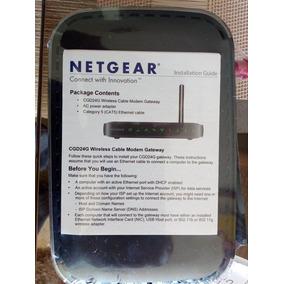 Modem Router Netgear Intercable Wifi Nuevo