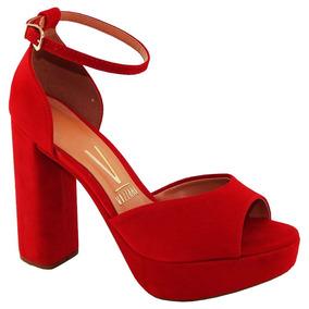 3e2d7674f Sandalia Vizzano Nobuck Numero 35 Feminino Sandalias - Sapatos em ...