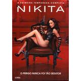 Box - Nikita - Primeira Temporada Completa - 5 Dvds - Lacrad