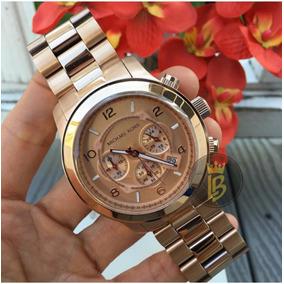 e7941ec00a437 Lindo Relógio Michael Kors Mk 5076 Rose De Luxo Masculinos ...