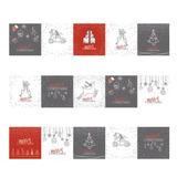3pc Diy Patrón De Navidad Etiqueta Auto-adhesivo De La Pared