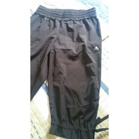 Pantalon De Tela Mono Deportivo Capri De Dama adidas Talla M 0490796678589