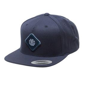 Bone Element Aba Reta Snapback Patrol Cap Original Azul Dark d97de2e1357