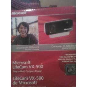 Camara Microsoft Life Cam Vx 500